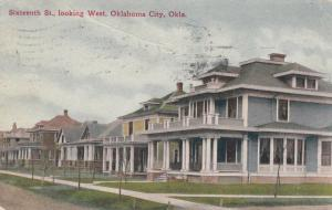 OKLAHOMA CITY , Oklahoma , 1911 ; 16th Street , Looking West