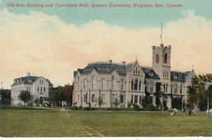 KINGSTON, Ontario, 00-10s; Queens University , Old Arts Bldg. & Carruthers Hall
