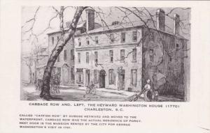 Cabbage Row & The Heyward Washington House, Charleston,South Carolina,  40-50s