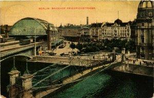 CPA AK Berlin- Bahnhof Friedrichstrasse GERMANY (905069)