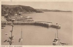 Mevagissey Boats Cornwall 1945 WW2 Frank Postcard
