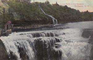 Lower Falls of the Genesee River - Rochester NY, New York DB