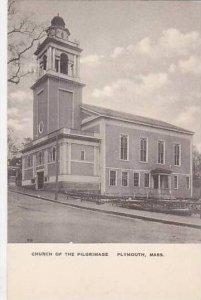 Massachusetts Plymouth Church Of The Pilgrimage Albrtype
