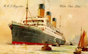White Star Line - RMS Majestic