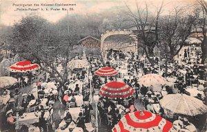 Prachtgarten des Kolossal Etablissement, Phonix Palast Austria Postal Used Un...