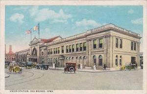 Iowa Des Moines Union Railroad Station