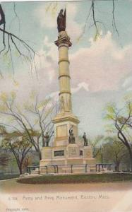 Massachusetts Boston Army And Navy Monument