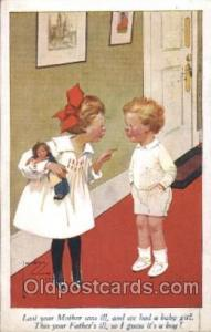 Artist Signed Lawson Wood, Postcard Postcards Artistique Series No. 1951 Arti...