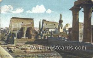Luxor Eqypt Mosque, Temple of Luxor  Mosque, Temple of Luxor
