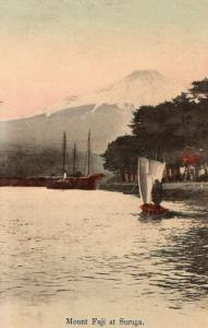 Japan Mount Fuji at Suruga Colored 01.54