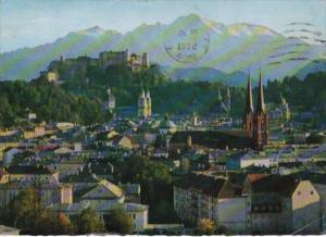 Austria Salzburg City Of Festivals Panorama