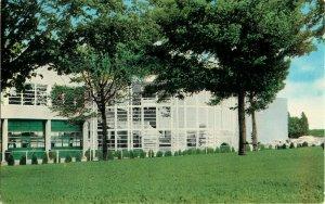 Postcard New Clubhouse, Rockingham Park, Salem Depot, NH