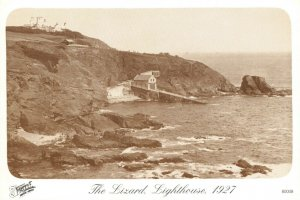 Vintage Reproduction Cornwall Postcard, 1927 The Lizard Lighthouse AS4