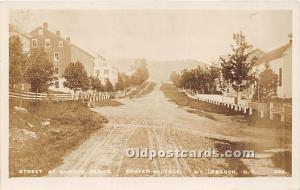 Old Vintage Shaker Post Card Street at Church Family,  Village, Real Photo Mo...