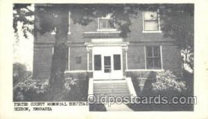 Medical Hospital, Sanitarium Postcard Postcards Thayer County Memorial Hospit...