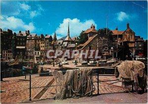 Modern Postcard Honfleur (Calvados) La Cote Fleurie The Lieutenancy