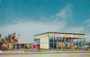 Florida Sarasota Circus Hall Of Fame Entrance Building