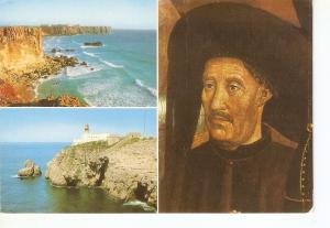 Postal 036767 : Portugal - Algarve - Sagres. Infante D. Henrique - Fortaleza ...