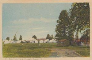 CHATHAM , Ontario , Canada , 1930s ; Erie Beach Auto Camp