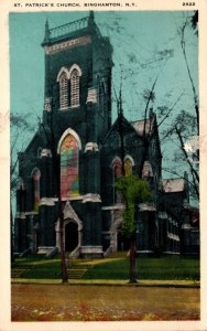 New York Binghamton St Patrick's Church