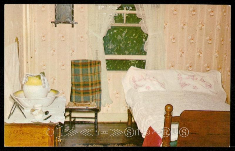 Matthew's Bedroom at Green Gables - Prince Edward Island