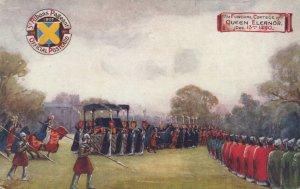 ST. ALBANS Pageant , UK , 1907 : Funeral Cortege of Queen Eleanor : TUCK 9511