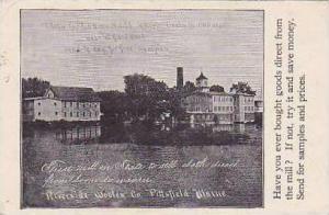 Maine Pittsfield Riverside Woolen Co
