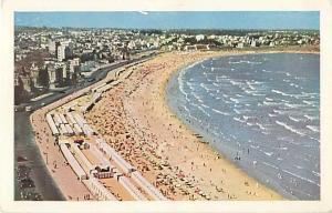 Air view R.O. del U. Playya Pocitos Montevideo Uruguay Chrome
