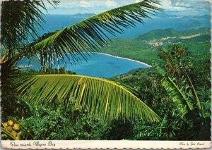 postcard Virgin Islands - View Towards Magens Bay
