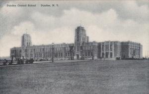 Dundee Central School, DUNDEE, New York, 1900-1910s