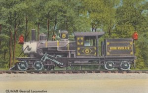 NORTH WOODSTOCK , New Hampshire , 1930-40s; CLIMAX Geared Locomotive