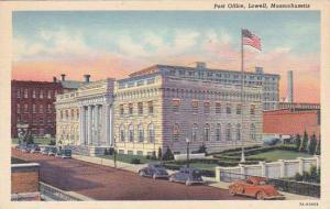 Massachusetts Lowell Post Office
