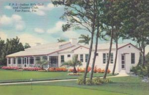 Florida Fort Pierce Indian Hills Golf and Country Club Curteich