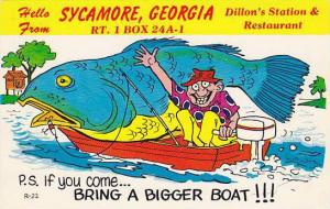 If you come bring a Bigger Boat, Sycamore Georgia,  40-60s