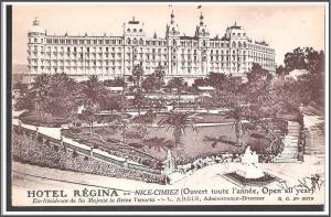 France - Hotel Regina Nice-Cimiez - [FG-020]