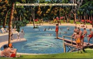 Florida Orlando Sanlando Springs Tropical Park