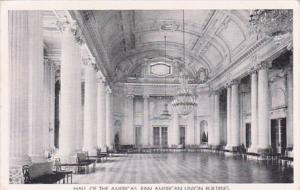Washington D C Hall Of The Americas Pan American Union Building