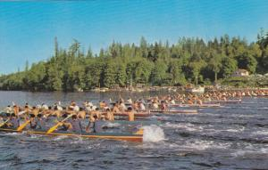 Annual Indian War Canoe Races , May , 1961 , Cowichan Bay , VANCOUVER ISLAND ...