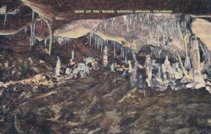 Manitou Springs CO, Colorado - Cave of the Winds - Linen