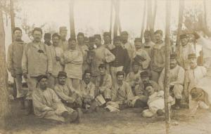 Military - Real Photo Postcard Group Army - WW1 02.77