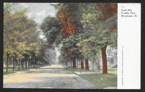 South Side Franklin Park Bloomington Illinois Used c1910