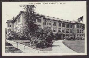 State Teachers College,Platteville,WI Postcard