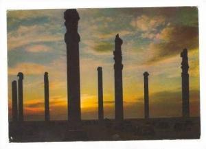 PERSEPOLIS  Pillars of Apadana Palace, Iran, PU 1970s