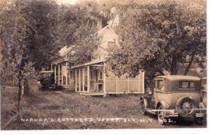 RPPC, Warner's Cottage Upper Jay NY