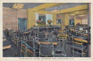 WASHINGTON D.C. , 1930-40s ; Hi-Hat Cocktail Lounge, Ambassador Hotel