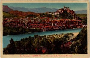 CPA Sisteron La Ville sur les bords de la Durance (683638)