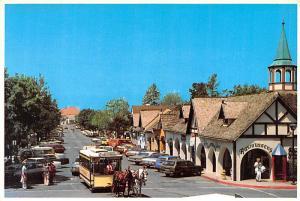 Horse Drawn Trolley - Solvang, California