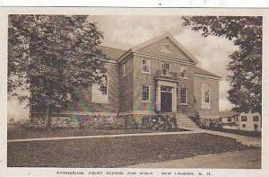 New Hampshire New London Gymnasium Colby School For Girls Albertype
