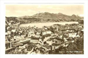 RP, Luzern mit Rigi (1800 m.), Switzerland, 1920-1940s