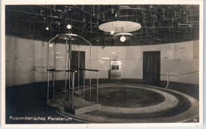 RPPC  MUNICH, GERMANY  Interior View KOPERNIKANISCHES PLANETARIUM  Postcard